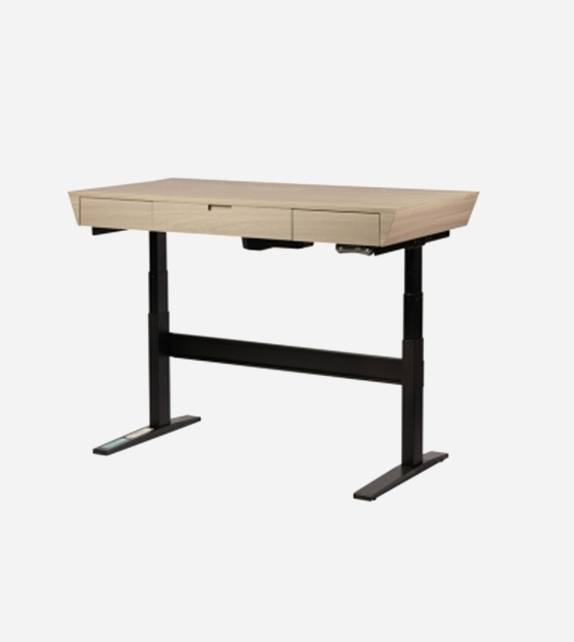 Height Adjustable Standing Desk with customized Desk Top