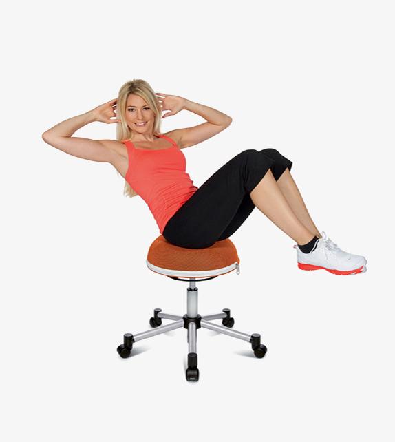 Topstar Half Ball Ergonomic Chair