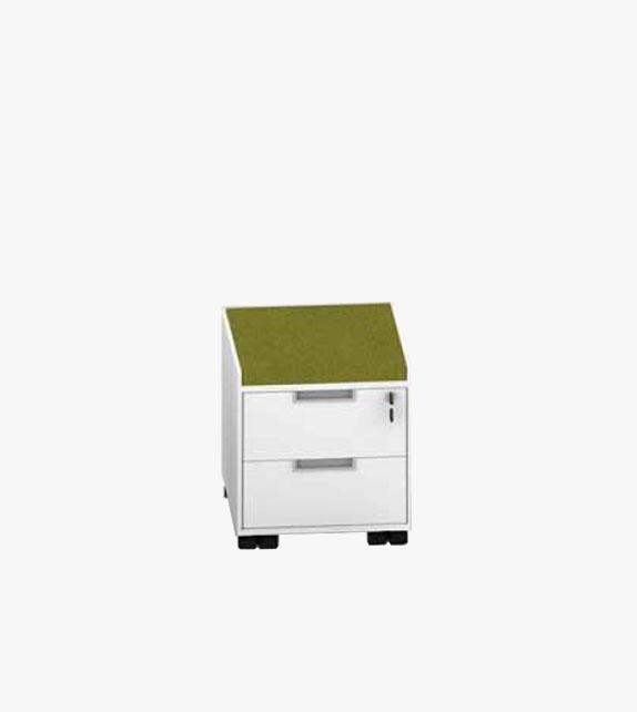 Pedestal 2-drawer Cabinet