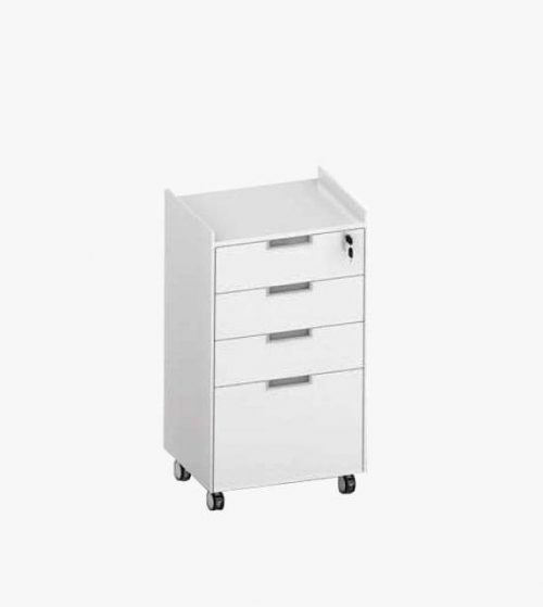 Pedestal 4-drawer Cabinet