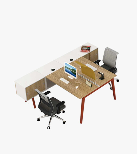 Office Desks with side cabinet