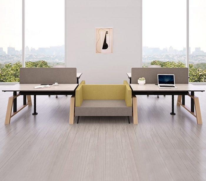 Scandinavian Design Standing Desk: Skønhed