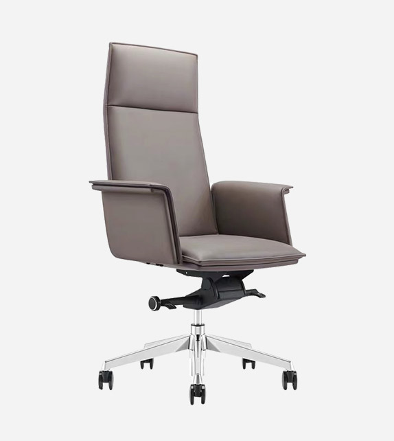 Flax Leather Executive Chair