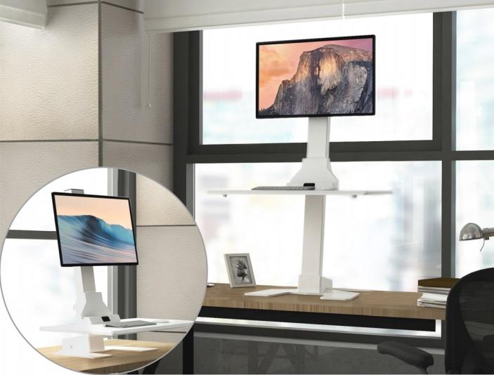 Dual Monitors Adjustable Desk Converters EDT10-T02