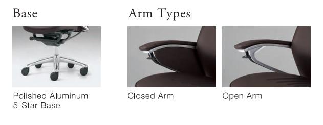 Okamura Legender Full Leather Ergonomic Chair - Ergoseatings