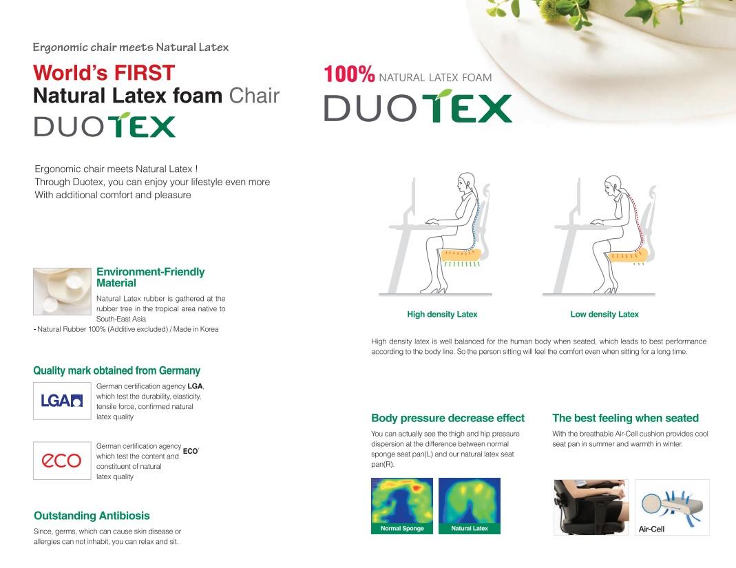Duorest 2.0 ergonomics chair