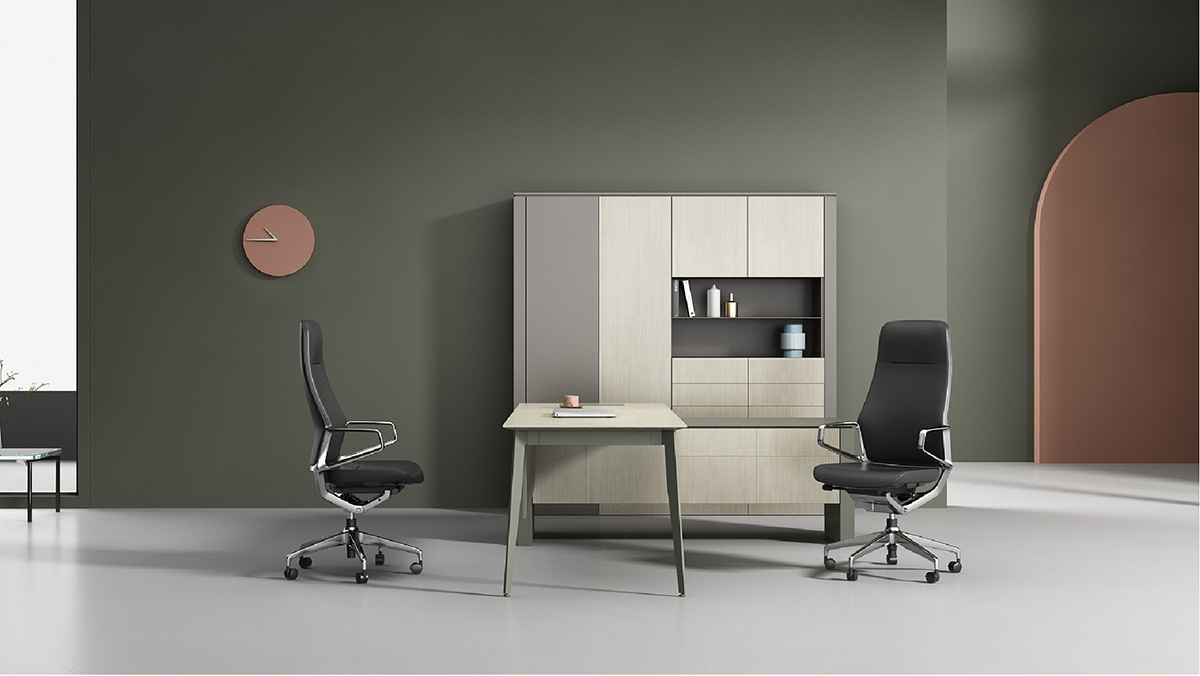 Oracle Leather Executive Chair
